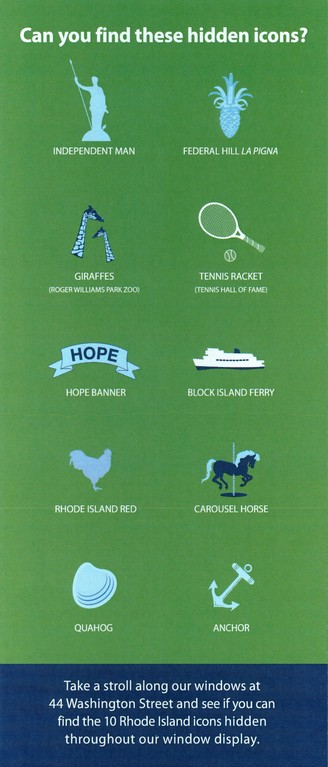Hidden Rhode Island Icons