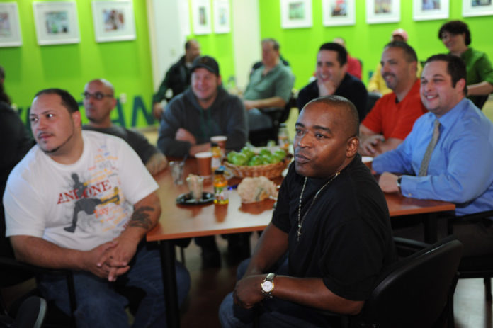 PAYING ATTENTION: Banneker Industries spends effort – and money – to help employees enjoy a generous benefits package, as well as an accommodating workplace, including a newly designed training room. / Courtesy Banneker