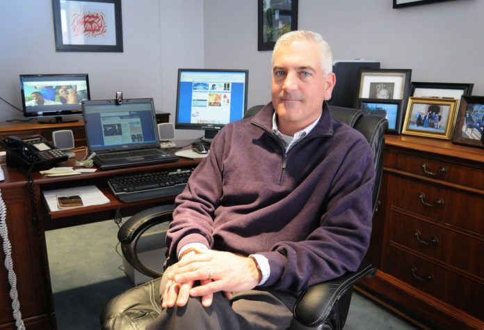 DAVID PICCERELLI, president and CEO of WSBE-TV PBS 36, Rhode Island's only public television station, lauded the vote of the station's board of directors setting it on the path to independence from the state.  / PBN FILE PHOTO/FRANK MULLIN