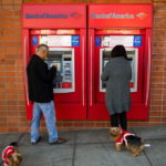 BANK OF AMERICA expects to use consumer deposits to fund operations for the next three years, thanks to an aggressive debt-reduction program it has undertaken. / BLOOMBERG NEWS FILE PHOTO/DAVID PAUL MORRIS