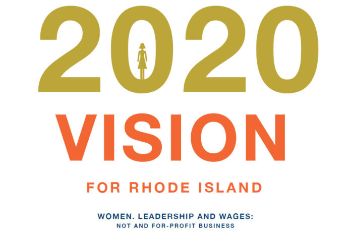 VISION2020, a report released by the Institute for Women's Health and Leadership, shows that Rhode Island businesses lack in promoting women leadership. / COURTESY WOMEN'S FUND OF RHODE ISLAND