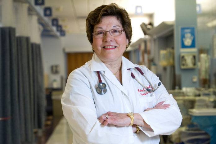 DR. KATHLEEN HITTNER is retiring Oct. 17 as the result of a management reorganization being put in place by Lifespan president and CEO, Dr. Timothy J. Babineau. / PBN FILE PHOTO/STEPHANIE ALVAREZ EWENS