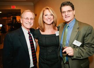 PBN's Dave Dunbar, Lisa Pagano and Jim Hanrahan / Rupert Whiteley