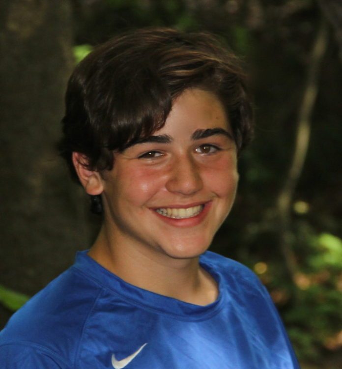 RECENTLY NAMED a 2013 Global Teen Leader by the We Are Family Foundation, Nicholas Lowinger, 15,  is looking to grow his nonprofit, Gotta Have Sole, from a 14-state footprint to operations in 26 states in 2013. / COURTESY NICHOLAS LOWINGER