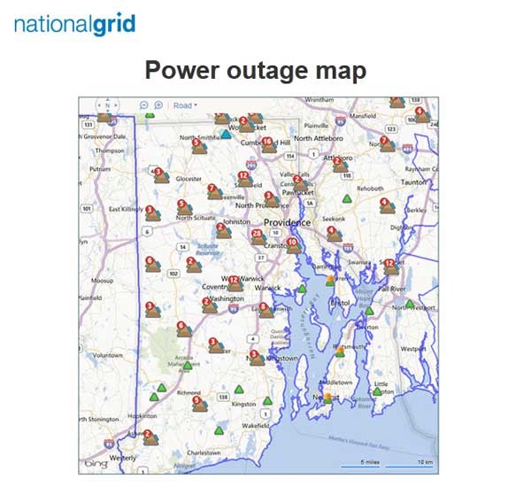 Storm Causes Power Outages Across R I Mass Providence Business News