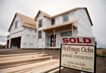 BUILDERS STARTED on the most single-family homes in January in more than four years.  / BLOOMBERG FILE PHOTO/DANIEL ACKER