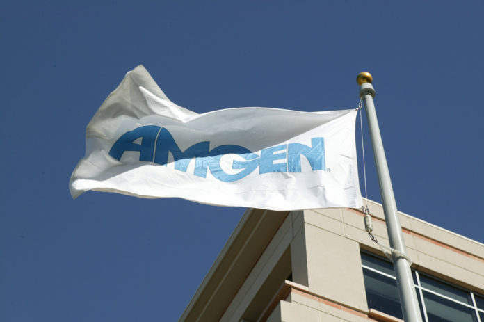 AMGEN INC. and Japan-based Astellas Pharma Inc. have partnered to create a venture called Amgen Astellas BioPharma KK, which will become an Amgen subsidiary as early as 2020.  / BLOOMBERG FILE PHOTO