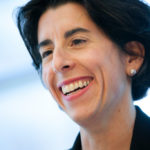 RHODE ISLAND TREASURER Gina M. Raimondo announced Friday that the Employees' Retirement System of Rhode Island has been named Small Public Plan of the Year by Institutional Investor magazine.  / BLOOMBERG FILE PHOTO/SCOTT EELLS