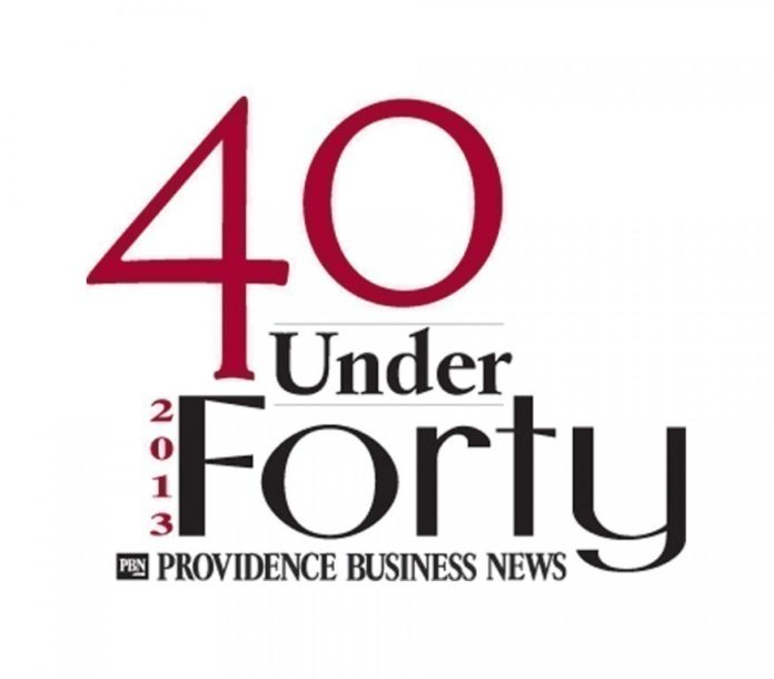 THE 2013 40 UNDER FORTY celebration is scheduled for July 25 at the International Tennis Hall of Fame in Newport.