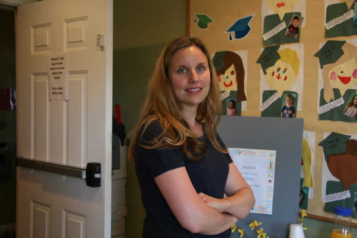 GROWING UP: Lynsey Colgan, owner of A Child's University, is planning to expand by adding a kindergarten program in fall 2014. / PBN PHOTO/MICHAEL PERSSON