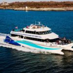 RHODE ISLAND FAST FERRY is seeking approval to being high-speed ferry service from Quonset Point in North Kingstown to Block Island. / COURTESY RHODE ISLAND FAST FERRY
