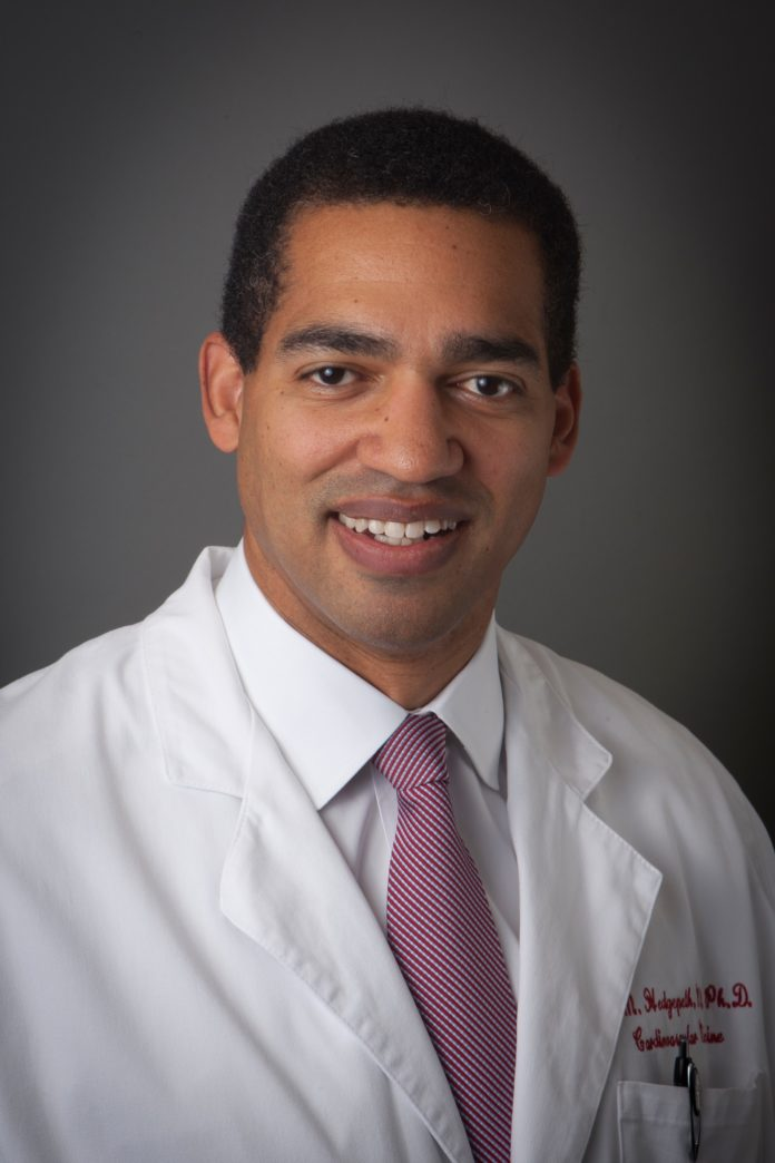 DR. CHESTER HEDGEPETH says that telemedicine allows local patients to access the talents of a larger team based in Boston and thus improve their health. / COURTESY KENT HOSPITAL