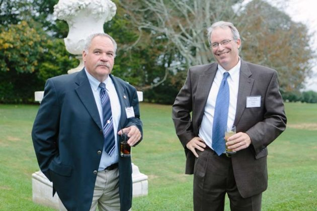 Brian Hoxsie, New England Construction and Peter Dorsey, The Business Development Company  / Rupert Whiteley