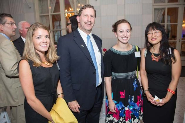 Lauren Paola, Neil Steinberg, Jessica David and Mary Kim Arnold, Rhode Island Foundation  / Rupert Whiteley