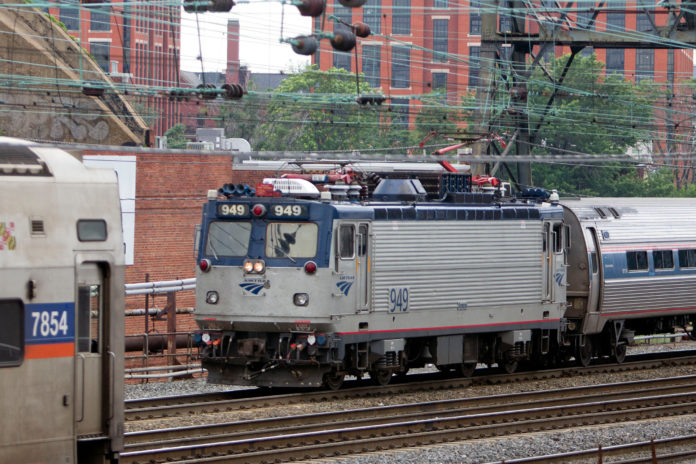 AMTRAK WILL HOLD a mass casualty emergency response exercise on Oct. 5 as part of an ongoing effort to train local public-safety personnel in responding to emergencies involving passenger trains. / BLOOMBERG FILE PHOTO/ANDREW HARRER