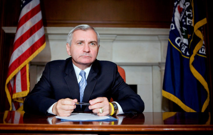 ON THURSDAY, the U.S. Senate reached an agreement on a Democratic proposal for a three-month extension of federal unemployment benefits that was introduced by Rhode Island's Democratic Sen. Jack Reed and Nevada's Republican Sen. Dean Heller. / BLOOMBERG FILE PHOTO/JOSHUA ROBERTS