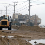 AN INFLUENTIAL PREDICTOR of hurricane activity has increased the number of expected named storms for the coming season, which it still expects to be lighter than average. Above was the scene in Misquamicut shortly after Superstorm Sandy hit the East Coast in 2012. / PBN FILE PHOTO/BRIAN MCDONALD
