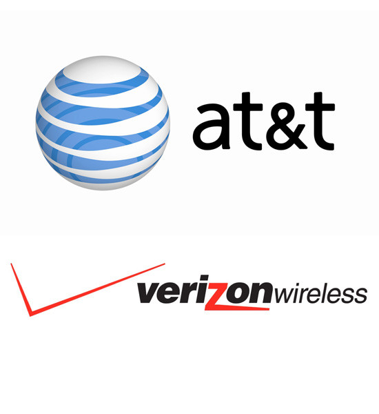AT&T AND VERIZON WIRELESS both scored highly in a RootMetrics study evaluating network reliability and speed in Providence. T-Mobile, which launched LTE service in the area since last year, also advanced in this year's study.