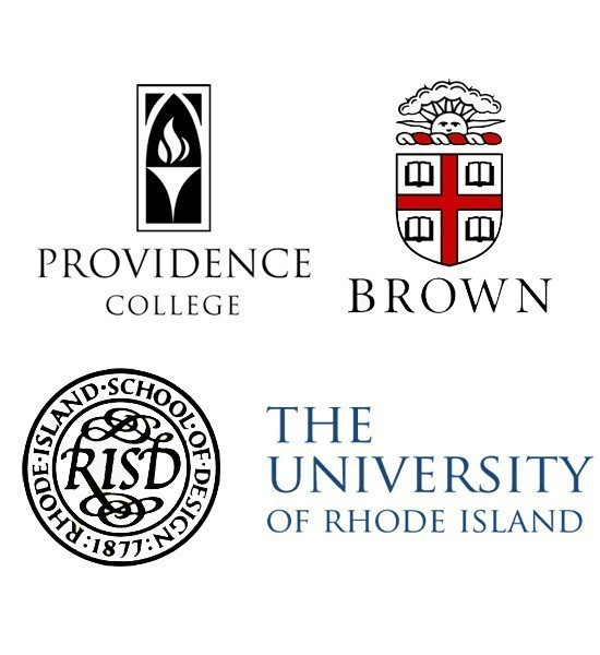 BROWN UNIVERSITY, Providence College, the University of Rhode Island and the Rhode Island School of Design have been named among the top schools in the country in the Fiske Guide to Colleges 2015.