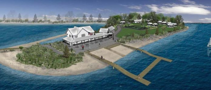HIGH RISE: The new YMCA Sailing Center in South Kingstown sits 14 feet above sea level to account for potential flooding. / COURTESY OYSTERWORKS