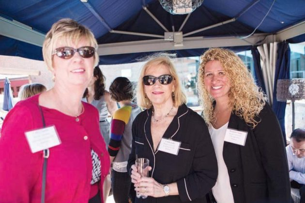 Cathy Currie, Linda Lulli and Melanie Cluley of Bryant University's HR Department   / Rupert Whiteley