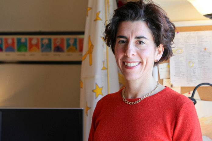 GENERAL TREASURER Gina M. Raimondo won the Democratic primary for governor on Tuesday. She will face Republican Allan Fung in the November general election. / PBN FILE PHOTO/NATALJA KENT