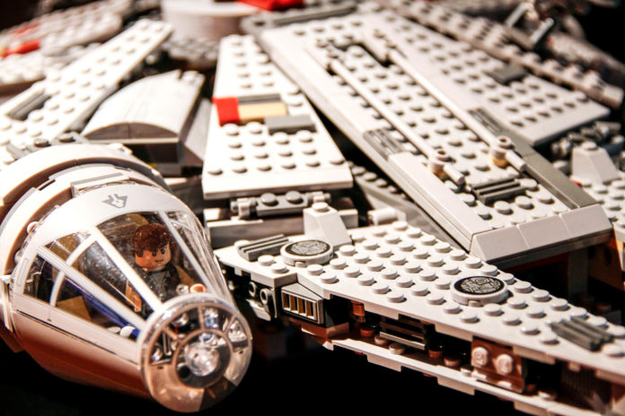 LEGO IS CLOSING IN ON NO. 1 TOYMAKER Mattel, thanks in part to its hit,