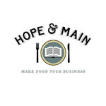 HOPE & MAIN, the state's first food business incubator, held a ribbon cutting Friday at its Warren home, the former Main Street School, which has been transformed through a $2.9 million U.S. Department of Agriculture loan.