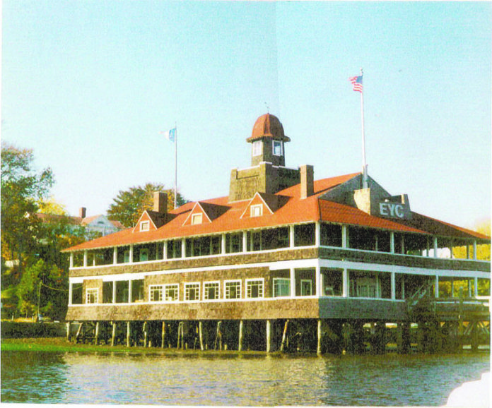 A $1.5 MILLION gift to the Moses Brown School will be used to help rebuild the destroyed Edgewood Yacht Club in Cranston (the 1908-built clubhouse before it too was destroyed by fire) and create a new home for the private school's renowned sailing program, among other uses. / COURTESY EDGEWOOD YACHT CLUB