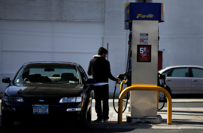 GASOLINE PRICES are at the lowest they have been since December 2010 in Rhode Island and Massachusetts, according to AAA Southern New England. / BLOOMBERG FILE PHOTO/VICTOR J. BLUE