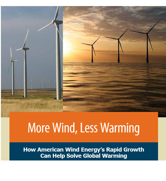 A REPORT BY THE ENVIRONMENT AMERICA RESEARCH & POLICY CENTER said Rhode Island could generate enough electricity from wind to power nearly 300,000 homes in 2030. / COURTESY ENVIRONMENT AMERICA RESEARCH & POLICY CENTER