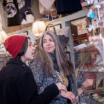 THINKING SMALL: Liv Jasmine, left, and her mother, Josephine Curry of Cranston, shop at Frog & Toad on Hope Street in Providence on Small Business Saturday in 2016. / PBN FILE PHOTO/MICHAEL SALERNO