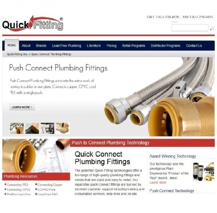 QUICK FITTING, a Warwick plumbing equipment manufacturer, has received approval to solicit and accept foreign investment under the federal EB-5 visa program. In addition, the company has been approved to be a regional center to channel other such investments to manufacturers in the region. / COURTESY QUICK FITTING