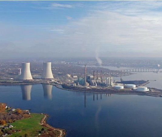 THE CLOSING OF THE BRAYTON POINT power plant by owner Energy Capital Partners is part of a projected shortfall of electricity generating capacity that ISO-New England expects will increase prices in New England for power consumers.  / COURTESY DOMINION RESOURCES INC.