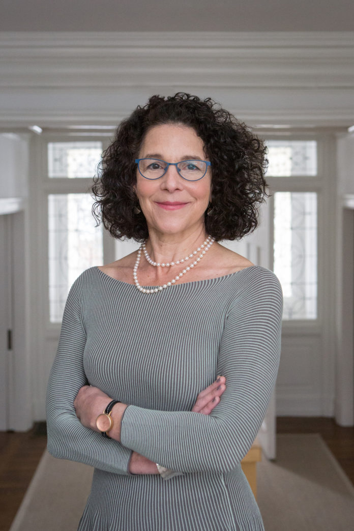 ROSANNE SOMERSON HAS BEEN named the 17th president of Rhode Island School of Design, effective immediately. She has been serving as interim president since Jan. 1, 2014. / COURTESY JO SITTENFELD/RISD