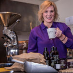 JOLT OF ENERGY: Stephanie Additon, CEO of Java Skincare, founded the company in 2013. Its products are now sold in 45 spas and boutiques in five states, as well as through its website. / PBN PHOTO/ MICHAEL SALERNO
