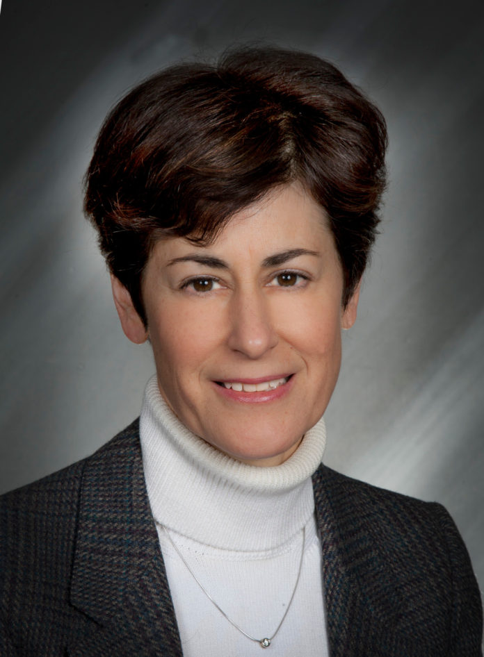 MARTHA SULLIVAN, president and CEO of Sensata Technologies, was named New England Businesswoman of the Year at the 2015 Women's Summit at Bryant University. / COURTESY SENSATA TECHNOLOGIES