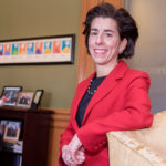 GOV. GINA M. Raimondo has a 48 percent approval rating, while 45 percent disapprove of the job she is doing, according to the latest poll released this week by Morning Consult, a media and technology company. / PBN FILE PHOTO/ MICHAEL SALERNO