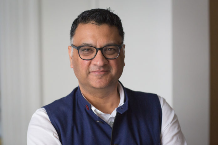 PRADEEP SHARMA has been named provost at the Rhode Island School of Design. / COURTESY JO SITTENFELD/RISD