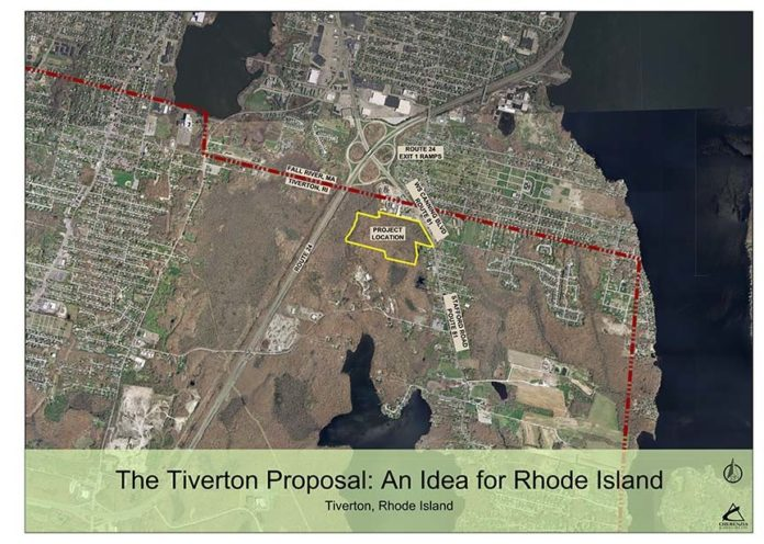 ANOTHER VIEW of the proposed casino project in Tiverton. / COURTESY TWIN RIVER CASINO