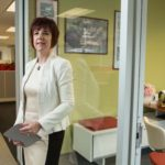 MAKING IT COUNT: Atrion Chief Financial Officer Marianne Caserta doesn't work in isolation; instead, she works to improve financial awareness throughout the company. / PBN PHOTO/RUPERT WHITELEY