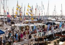 THE NEWPORT International Boat Show is calling for submissions for the 2015 Newport for New Products awards. The boat show comes to Newport Sept. 17 to 20. / COURTESY NEWPORT INTERNATIONAL BOAT SHOW