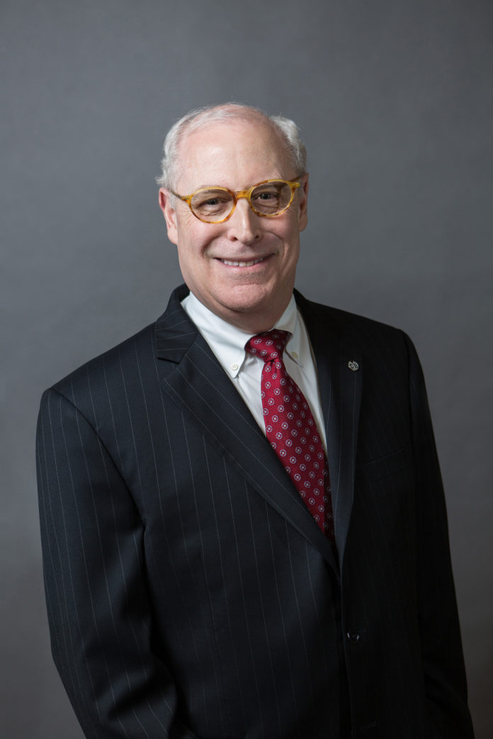 THOMAS LAMB was appointed president, CEO and chairman of the board of trustees at Centreville Bank's annual meeting last week. / COURTESY CENTREVILLE BANK