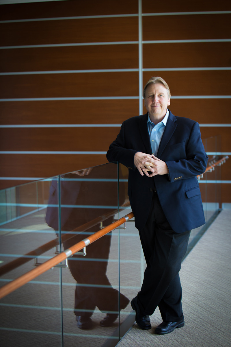 Thomas A. Lawson took over from Chairman and CEO Shivan S. Subramaniam at the beginning of 2015. Here Lawson sets out to break the myth that the only way to succeed in business is to change jobs every few years. / PBN PHOTO/STEPHANIE ALVAREZ EWENS