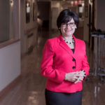 President and CEO of Home & Hospice Care of Rhode Island since 2008, Diana Franchitto took on the same role for Visiting Nurse Home Care subsequent to their 2012 affiliation. But her focus has always been on the organizations' clients. / PBN PHOTO/MICHAEL SALERNO