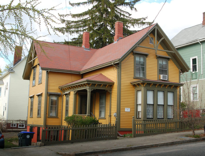 THE NATIONAL Park Service has added the Susan S. and Edward J. Cutler House on the east side of Providence to the National Register of Historic Places. / COURTESY R.I. HISTORICAL PRESERVATION & HERITAGE COMMISSION