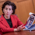 GOV. GINA M. Raimondo launched a statewide initiative Monday designed to improve health care for all Rhode Islanders. / PBN FILE PHOTO/ MICHAEL SALERNO