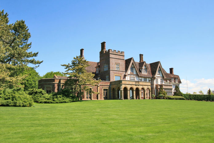 FAIRHOLME, AN estate on Newport's Cliff Walk, sold Monday for $15 million, the most expensive sale in Rhode Island in two years, according to Lila Delman Real Estate International, which represented the seller. / COURTESY LILA DELMAN REAL ESTATE INTERNATIONAL