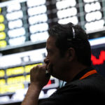 WITH A RALLY NOT SEEN SINCE 2011, U.S. equity markets recovered some of the losses during a six-day rout. The Standard & Poor's 500 Index gained 3.9 percent Wednesday, while the Dow Jones Industrial Average climbed 3.95 percent. / BLOOMBERG FILE PHOTO/TIM BOYLE