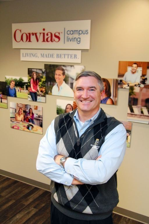 CORVIAS CAMPUS LIVING Managing Director Kurt Ehlers said Gilbane has a